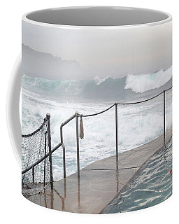 Coffee Mug featuring the photograph In Safe Waters by Evelyn Tambour