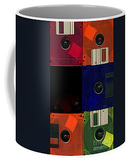 Coffee Mug featuring the photograph In Search Of The Missing Disc by Michael Hoard