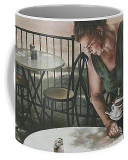 In The Absence Of A Dream Coffee Mug by Yvonne Wright