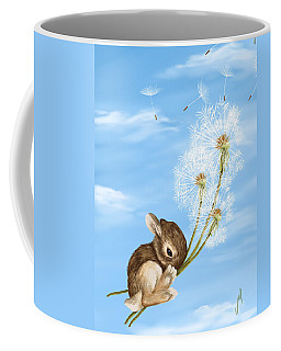 In The Air Coffee Mug by Veronica Minozzi