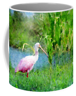 Coffee Mug featuring the photograph In The Bayou #1 by Betty LaRue