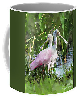 Coffee Mug featuring the photograph In The Bayou #2 by Betty LaRue