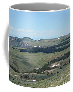In The Bighorn Mountains Coffee Mug