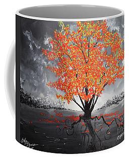 Blaze In The Twilight Coffee Mug