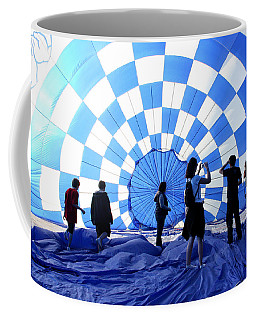 Coffee Mug featuring the photograph In The Blue by Christopher McKenzie