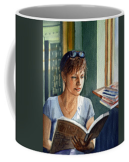 In The Book Store Coffee Mug
