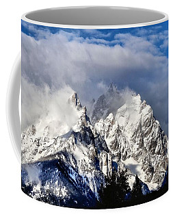 The Teton Range Coffee Mug