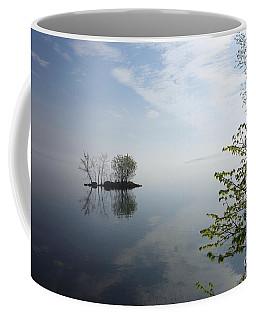 In The Distance On Mille Lacs Lake In Garrison Minnesota Coffee Mug