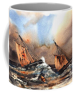 In The Eye Of The Storm Coffee Mug