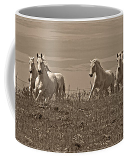 Coffee Mug featuring the photograph In The Field D5959 by Wes and Dotty Weber