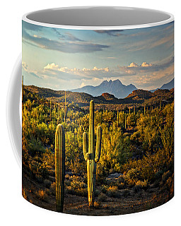In The Golden Hour  Coffee Mug by Saija  Lehtonen