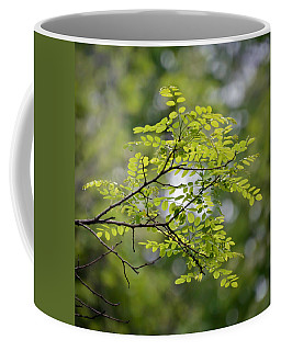 Coffee Mug featuring the photograph In The Green by Kerri Farley