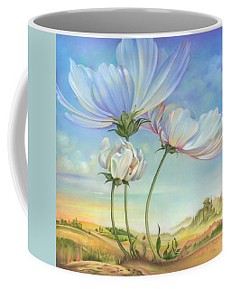 In The Half-shadow Of Wild Flowers Coffee Mug