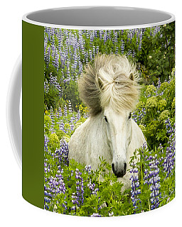 In The Lupine Coffee Mug