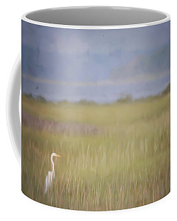 Coffee Mug featuring the photograph In The Marsh  by Kerri Farley
