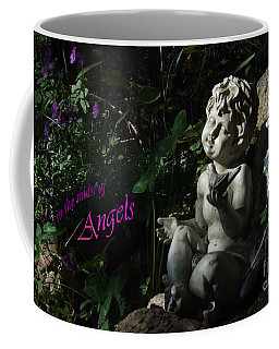 in the midst of Angels Coffee Mug