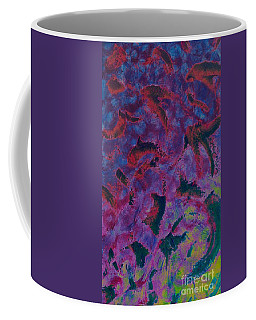Coffee Mug featuring the painting In The Mind's Eye by Jacqueline McReynolds