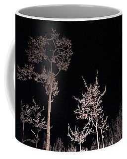 Coffee Mug featuring the photograph In The Night Garden by Brian Boyle