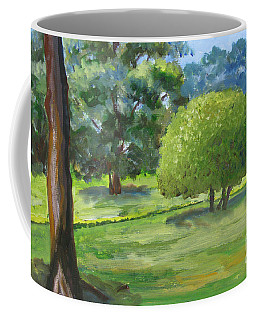 In The Park Coffee Mug by Mini Arora