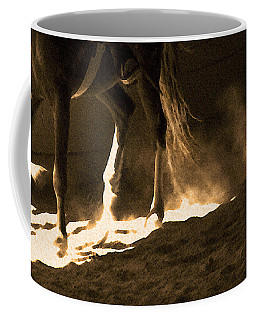 In The Practice Ring Coffee Mug
