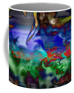 Coffee Mug featuring the painting In The Sea by Ericamaxine Price