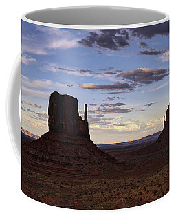 In The Shadows Of Monument Valley  Coffee Mug