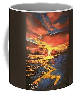 In The Still Of Dawn-2 Coffee Mug