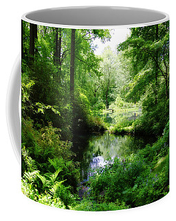 In The Stillness Coffee Mug by Trina  Ansel