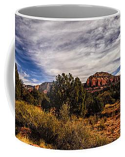 In The Valley Below Coffee Mug