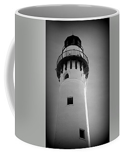 In The Village Of Wind Point Coffee Mug by Kay Novy