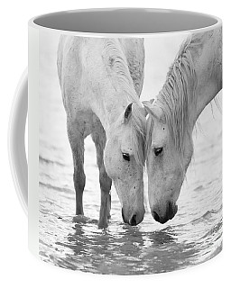 In The Water At Dawn II Coffee Mug