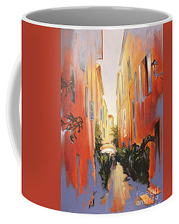 In Town Of Saint Tropez Coffee Mug