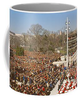 Inauguration Of President William Coffee Mug