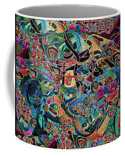 Inbetween Realms  Coffee Mug by Expressionistart studio Priscilla Batzell