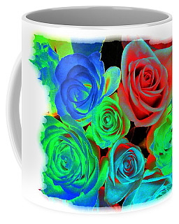 Incandescent Roses Coffee Mug