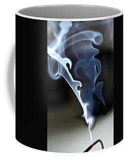 Incense Smoke Dance - Smoke - Dance Coffee Mug