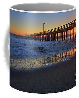 Coffee Mug featuring the photograph Incoming by Beth Sargent