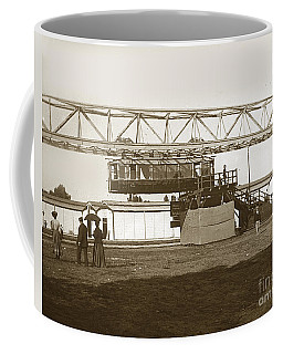 Coffee Mug featuring the photograph Incredible Hanging Railway  1900 by California Views Mr Pat Hathaway Archives