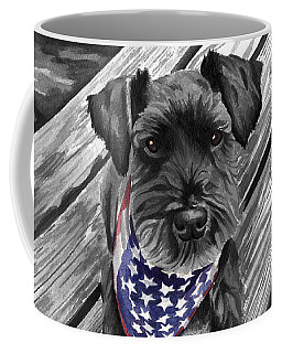 Independence Day Dog Coffee Mug