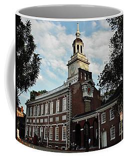 Independence Hall Coffee Mug by Ed Sweeney