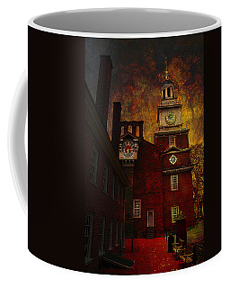 Independence Hall Philadelphia Let Freedom Ring Coffee Mug