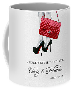 Independent Quote Coffee Mug by Rebecca Jenkins