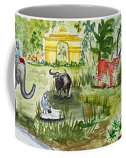 India Friends Coffee Mug