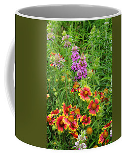 Indian Blankets And Lemon Horsemint Coffee Mug