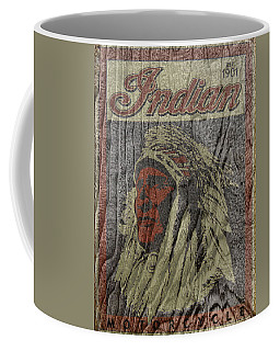 Indian Motorcycle Postertextured Coffee Mug