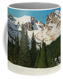 Indian Peaks Winter Coffee Mug