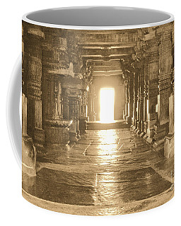 Coffee Mug featuring the photograph Indian Temple by Mini Arora