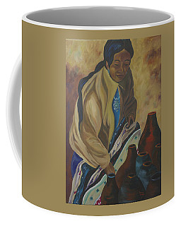 Indian Woman Potter Coffee Mug