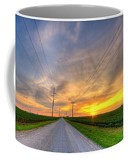 Indiana Sunset Coffee Mug
