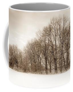 Indiana Winter At Freedom Park - Horizontal Coffee Mug